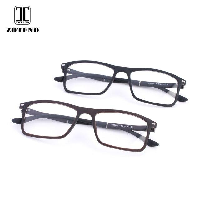 fea2e8f5884 TR90 Eyewear Frame Myopia Computer Optical Prescription Clear Eye Glasses  Frames For Men Fashion Rivet Brand Design  88009
