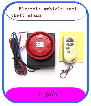 FREE SHIPPING/NEW/1piece Security Vibration Detector Sensor anti-theft Alarm for motorcycle/Electric motor car