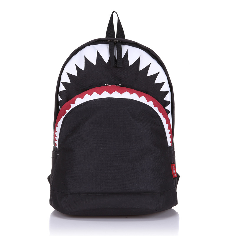 Requin sac à dos grandes créations Morn grand blanc noir semaine épaulard danse marque sac à dos fille enfants femmes