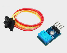 Free Shipping!!! DHT12 module / digital temperature and humidity sensor / single bus and I2C communication / compatible DHT11