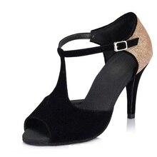 Latin Dance Shoes Sports Comfort Women Adult Dance Shoes Woman Samba Shoes Soft Bottom GB Ballroom Rumba Women Shoes Bullfight