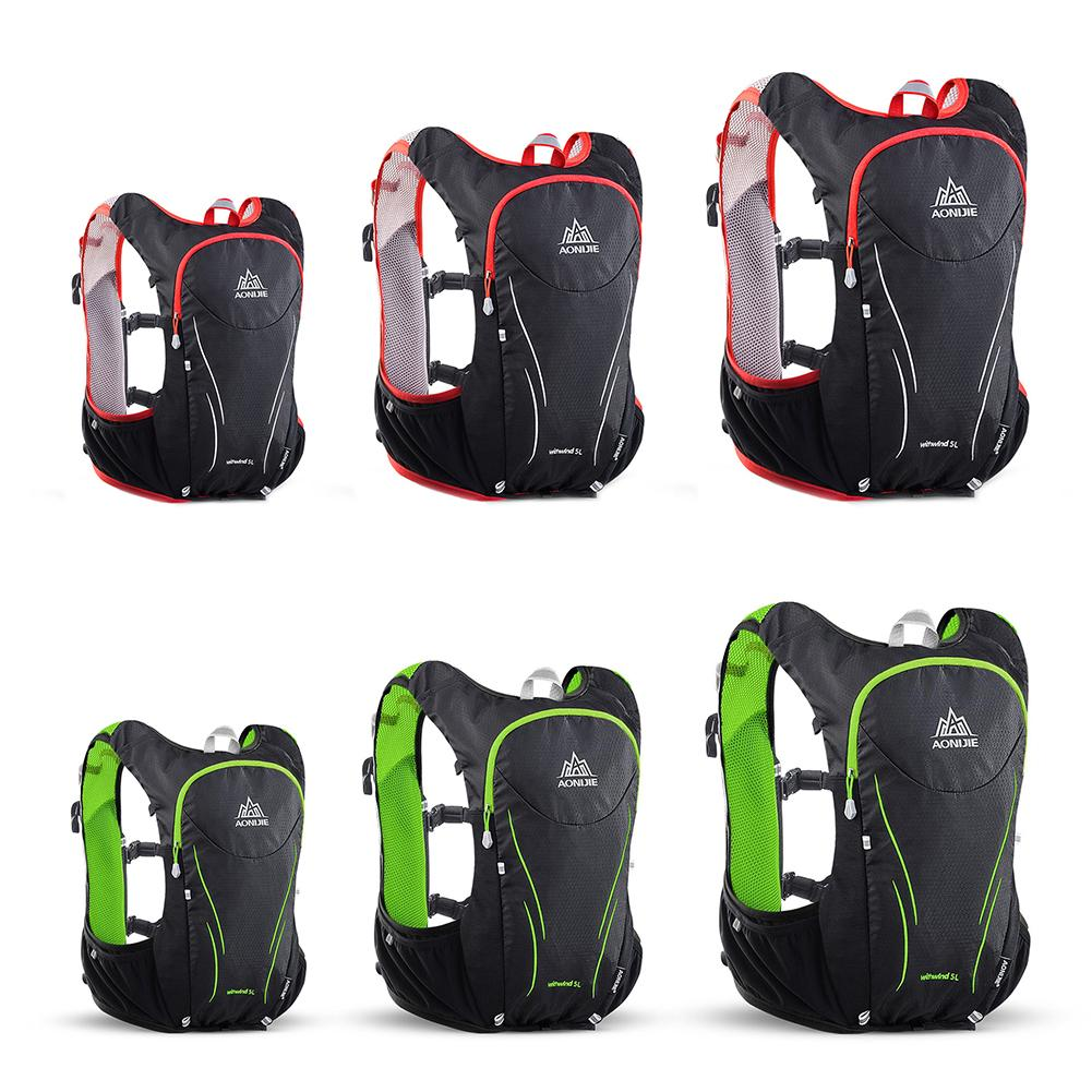 5L Nylon Waterproof Upgraded Sports Backpack Running Bicycle Bag Marathon Hydration Pack Outdoor Cycling Camping Vest Bag