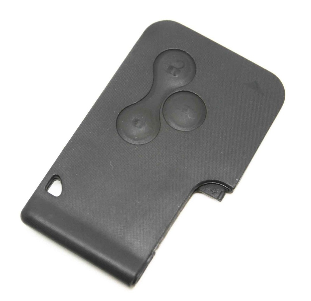 Fits For Renault Megane Scenic Grand Scenic 3 Button Key Card Case