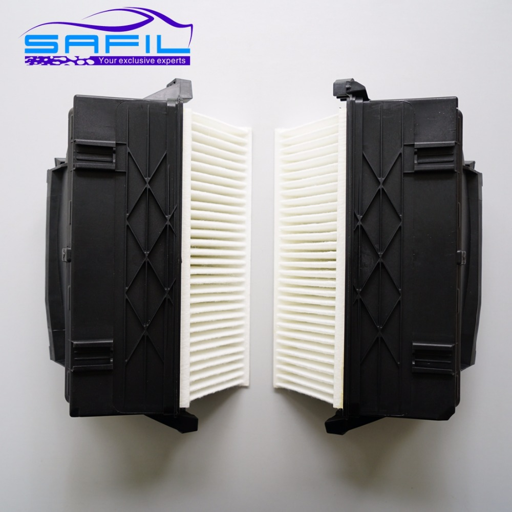 cabin filter for MERCEDES BENZ  C CLASS W204 C300 C350 E CLASS W212 E300 E350 GL CLASS X164 GL320 ML300 6420942304 6420942404-in Cabin Filter from Automobiles & Motorcycles    1