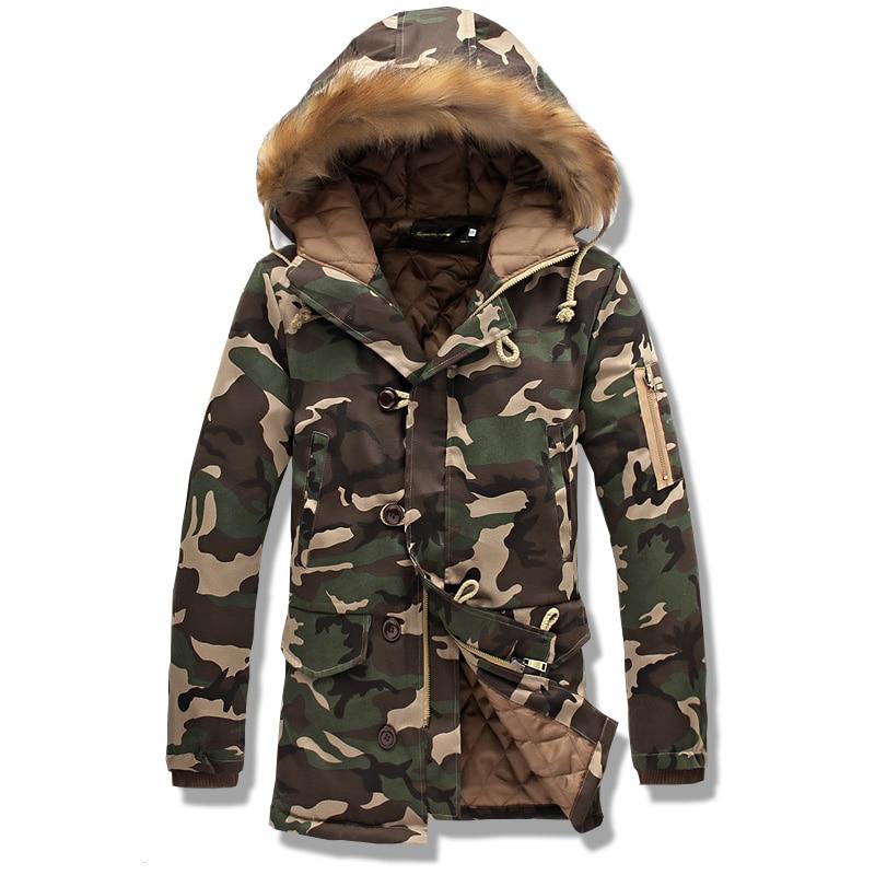 FANTUOSHI 2018 új álcázás nagy méretű meleg ruházat téli - Férfi ruházat