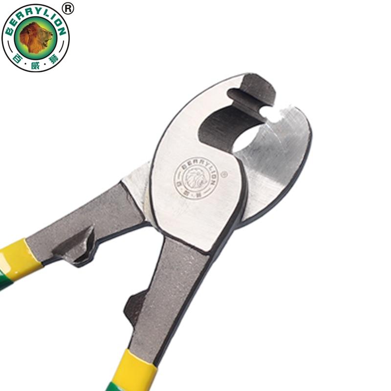 Berrylion 180mm Kabel Abisolierzange Crimpzangen Für Abisolieren Schneiden Crimpen Draht Multitool Elektriker Handwerkzeuge Werkzeuge