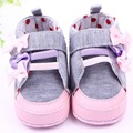 Lovely Baby Girls BowKnot Butterfly Shoes Cotton Padded Infant Toddler Baby Boys Girls Boots Soft Newborn baby First Walkers