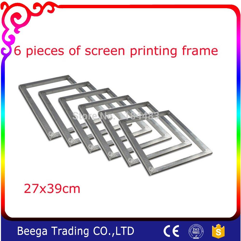 aluminum screen frame 6pcs 105x15 screen printing frames silk screen fabric mesh aluminum