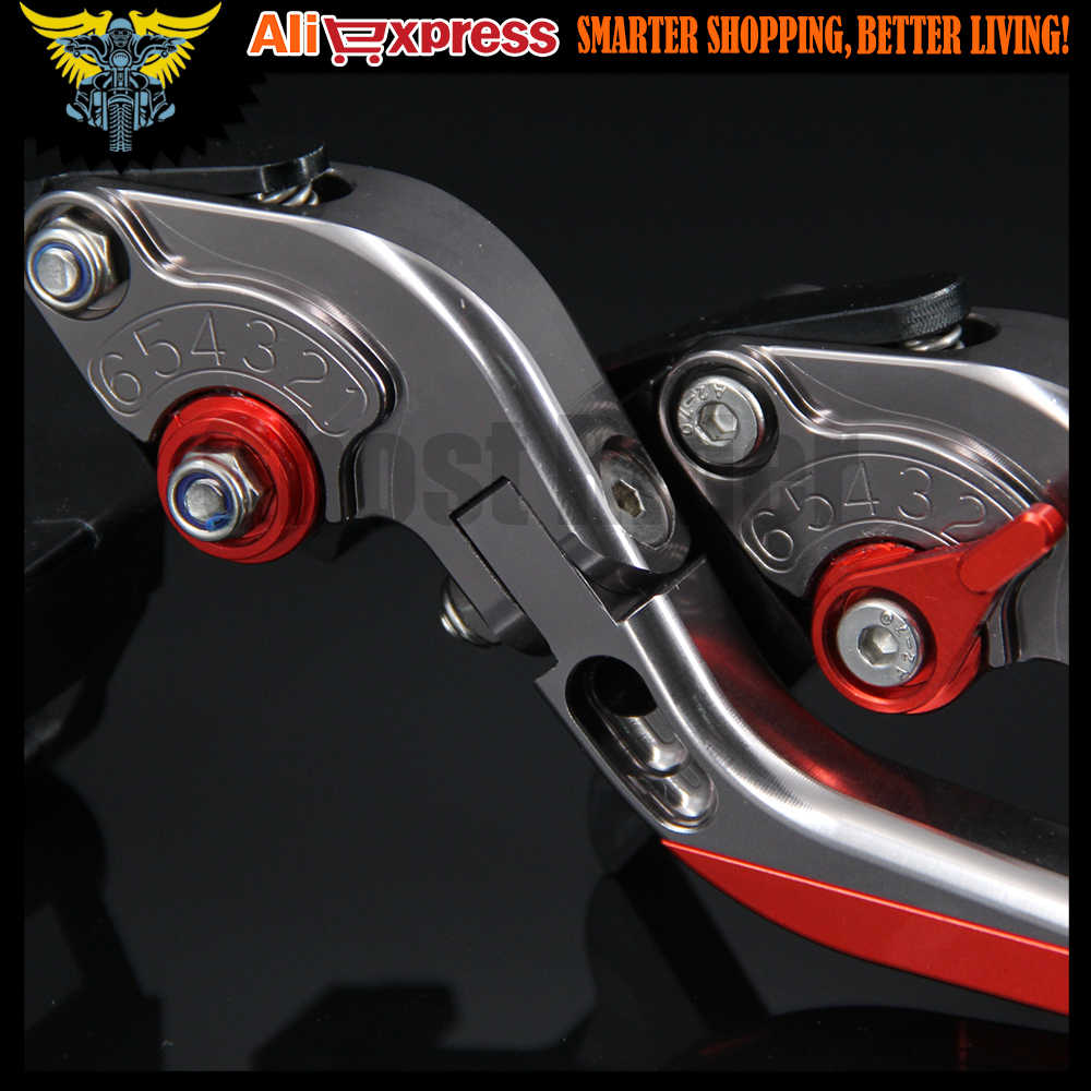 CNC Adjustable Folding  Motorcycle Brake Clutch Levers For Aprilia RSV4/RSV4 FACTORY 2009 2010 2011 2012 2013 2014 2015 2016