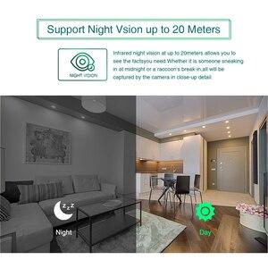 Image 5 - Techege 4CH CCTV система 1080P PoE NVR металлическая наружная 2.0MP IP камера система Onvif Cloud 1080 NVR комплект Обнаружение движения ночное видение