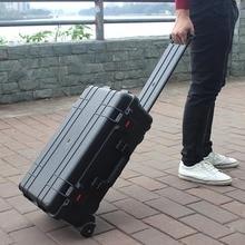 LeTrend, высокое качество, чемодан на колёсиках, инженерная/инструментальная коробка, портативный ящик для инструментов, чемодан, колесо, многофункциональная тележка, дорожная сумка