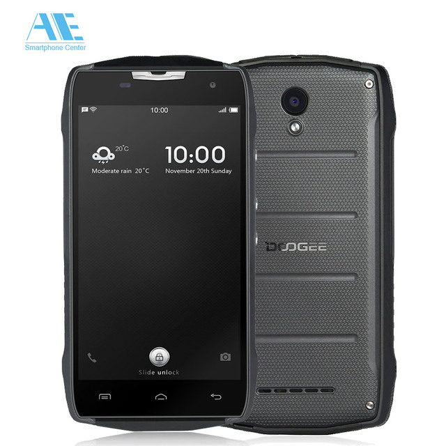 Doogee T5 Lite Smartphone Waterproof IP67 Dustproof Shockproof MT6735 Quad core Android 6.0 2GB 16GB Cell phone 4500mAh