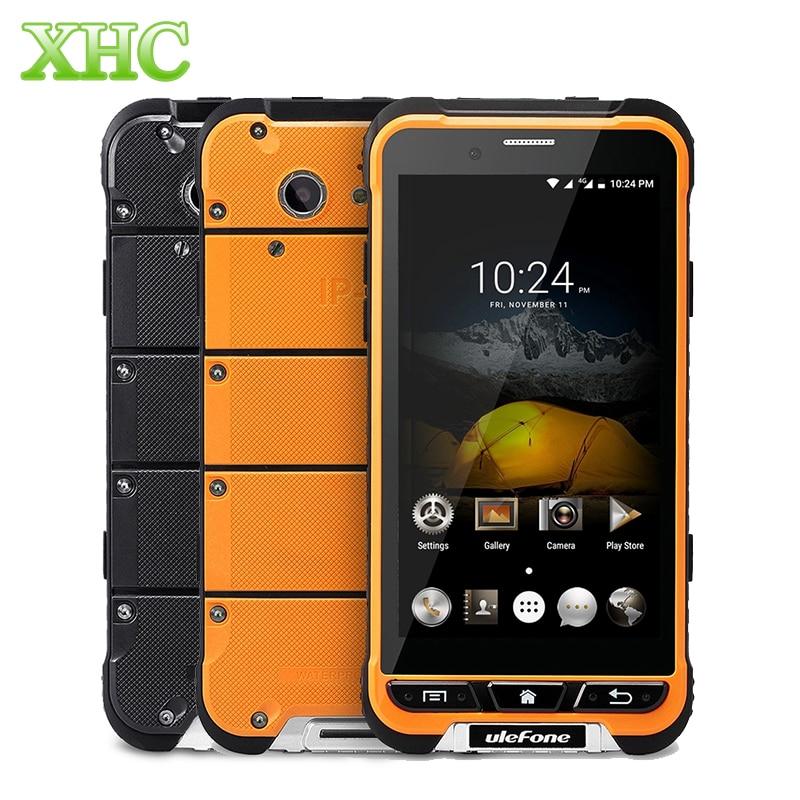 bilder für Ulefone RÜSTUNG IP68 Wasserdicht 4,7 inch Android 6.0 Handy MTK6753 Octa-core 1,3 GHz 3500 mAh 3G RAM 32G ROM 4G LTE Smartphone