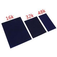50 листов углеродная бумага 16 K/32 K/48 K синяя двухсторонняя углеродная машина для трафаретной печати переводная бумага канцелярские товары