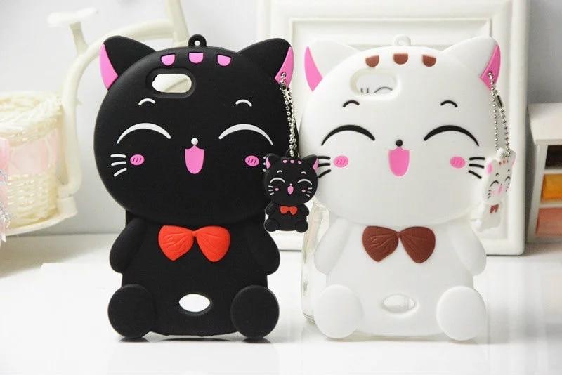 3D Cartoon Cat Stitch Totoro Kumamon Minions Judy Minnie Phone Case for OPPO Neo 5 A31 A31T Soft Silicone Cover Fundas Coque