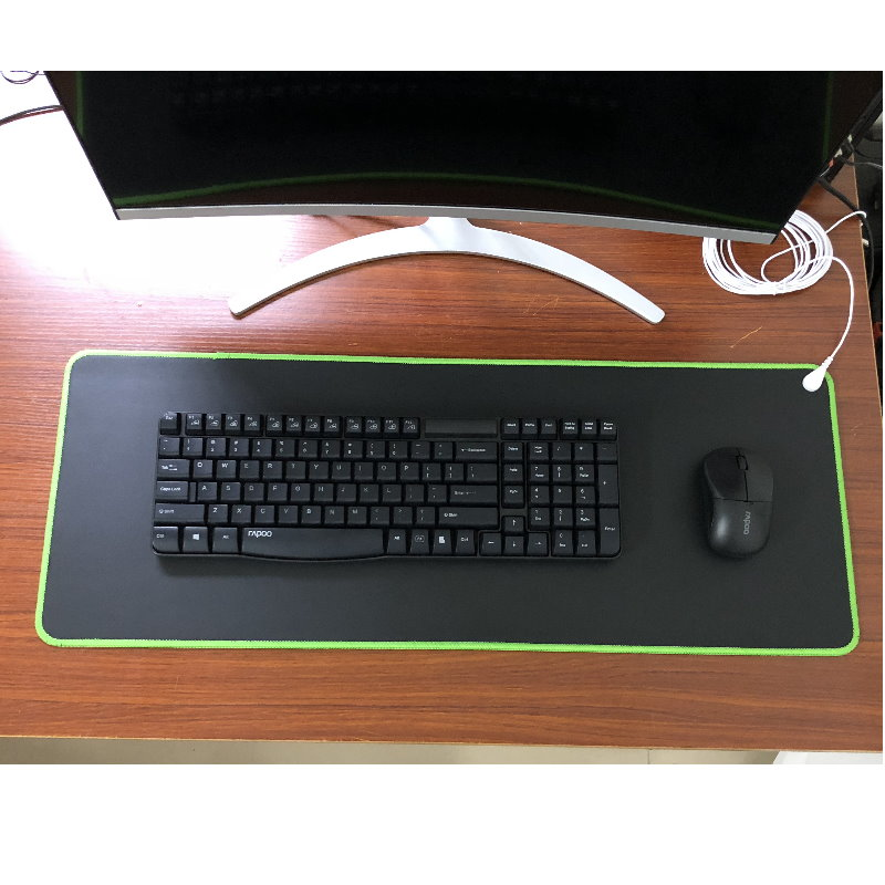 EARTHING Conductive desk Mat  EMF protection for health 68*26cm  green color