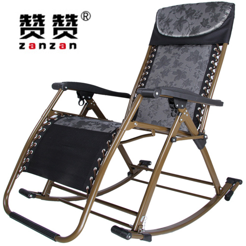 Like Zandt Coarse Thick Luxury Recliner Rocking Chairs Siesta Beach Chair  Folding Chair Leisure Chair Backrest