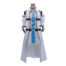 SAO Sword Art Online 2 Асуна Юки синяя версия Косплей Костюм на заказ ручной работы любой размер