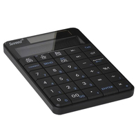 2in1 29 Keys Portable Numeric Keyboard With Digital Display Calculator For Laptop Tablet Computer Compatible For