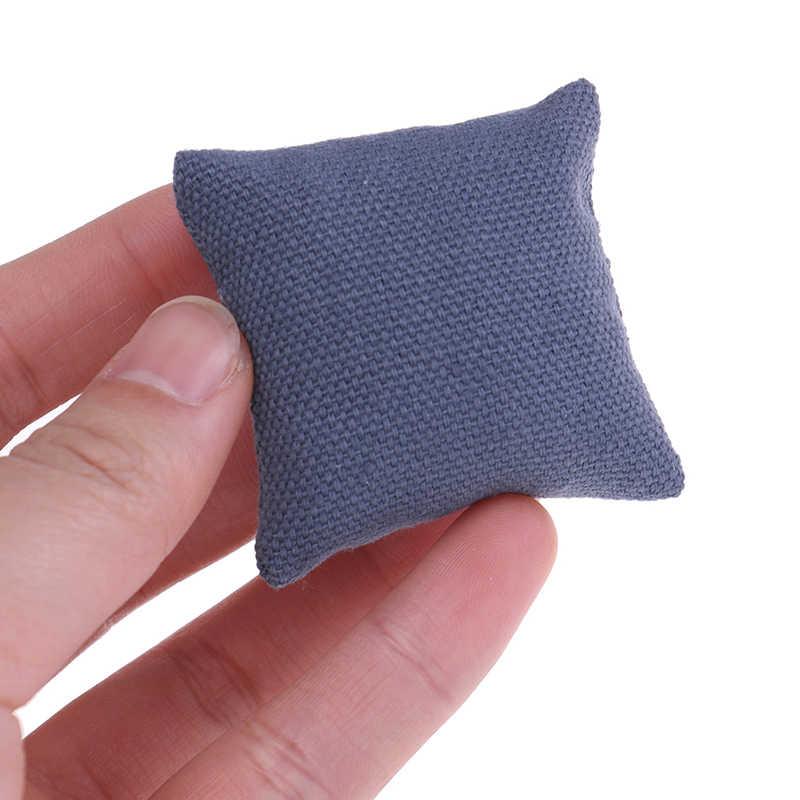 2 шт. модные подушки для дивана диван кровать для 1/12 кукольный домик миниатюрная мебель Игрушки Без дивана стул