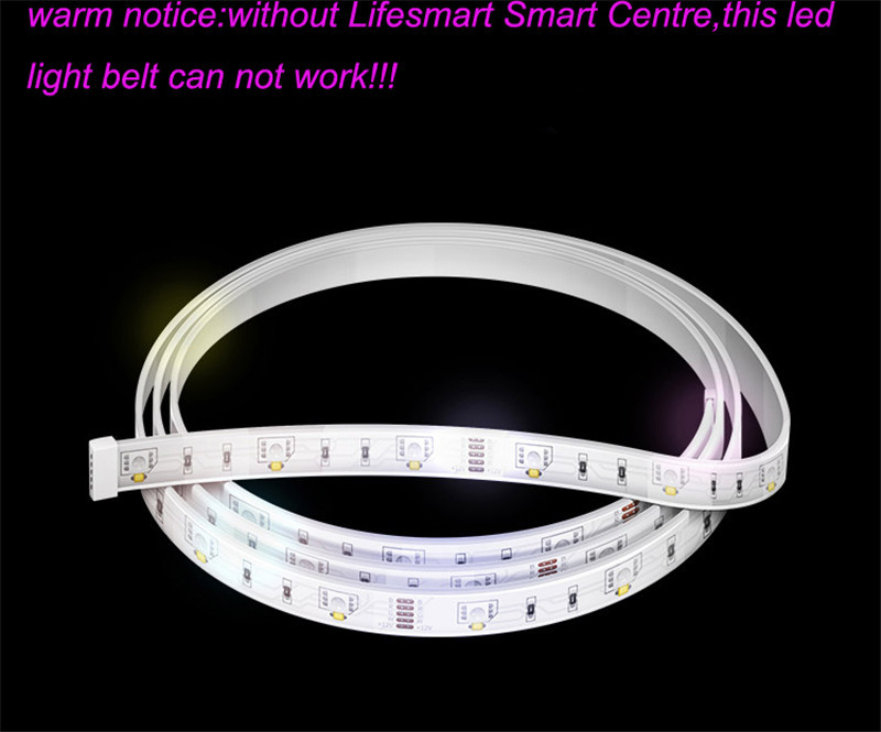 9-Lifesmart New LED Light Strip Wireless Remote Control by Phone16 Million Colors RGB Dimmable Smart Home Automation Customerized