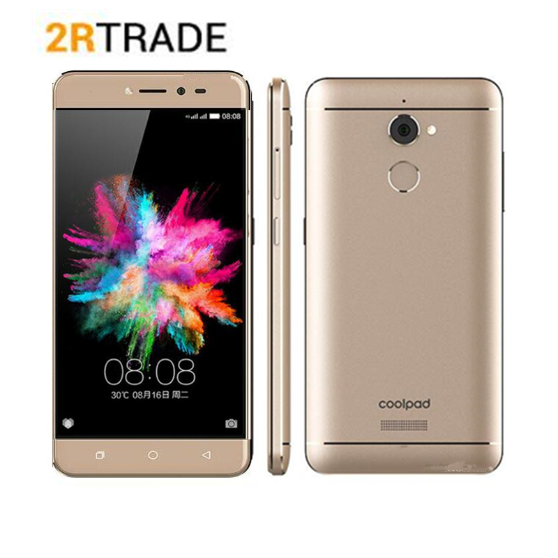 """Global Cool1 Coolpad 3600I NOTE 5 4G LTE 5.5"""" FHD Android 7.0 13MP 4GB RAM 32GB ROM Cell Phone"""
