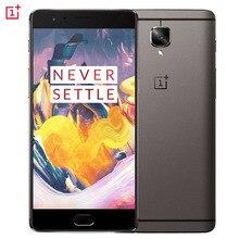 "4G Original Oneplus 3 T A3010 6 GB + 64 GB 5.5 ""2.5D Arco de Hidrógeno 2.5 Android 6.0 Qualcomm Snapdragon 821 Quad Core de hasta 2.35 GHz"