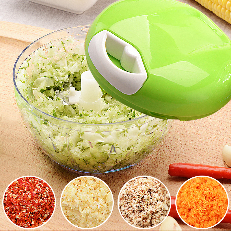 Multifunctional Onion Cutter Meat Vegetable Cutter Chopper Hand Fruit Tool Chopped Shredders Slicers Accessories Kitchen Tools