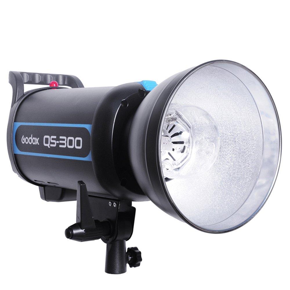 Godox QS-300 300W 300WS Speed Studio Strobe Flash Light Lighting Lamp Head 110V 220V