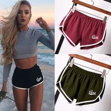 цена на Women Shorts Sport High Waist Short Pants Fitness Yoga Running Shorts Summer Sexy Casual Shorts