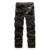 Nueva Venta de Los Hombres Ocasionales de Carga Pantalones de Múltiples Bolsillos de Algodón de Los Hombres Pantalones de Ropa de Trabajo Pantalones de Estilo Militar Del Ejército