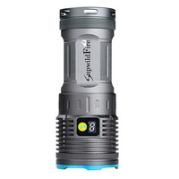 flashlight for bicycle Supwildfire  20000LM 8 x XM-L T6 LED Power & Mode Digital Display Hunting Flashlight  170814 P45