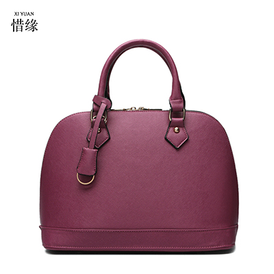 Hot Sale New 2017 Brand Handbag Famous Brands Genuine Leather Bags Women Handbag Fashion Vintage Bag Shoulder Bags Portable Bag new vintage genuine leather lady shoulder bag fashion portable elegant women handbag hot classic exquisite messenger bag c481