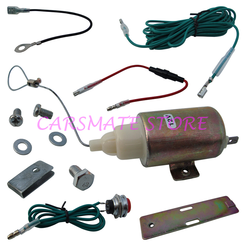 Classical Car Trunk Release Kit Compatible with Original Remote Control with Trunk Open Signal Output for