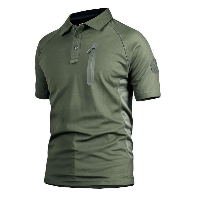 MEGE Summer Coolmax Breathable Fabric <font><b>Polo</b></font> For <font><b>Men</b></font>, <font><b>Men's</b></font> Brand Tactical Army SAWT <font><b>Quick</b></font> <font><b>Dry</b></font> <font><b>Polo</b></font> <font><b>Shirt</b></font> image