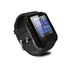 บลูทูธสมาร์ทนาฬิกานาฬิกาข้อมือU8สำหรับS Amsung LG HTCหัวเว่ยโทรศัพท์A Ndroidมาร์ทโฟนสนับสนุนข้อความ2015ขายร้อน