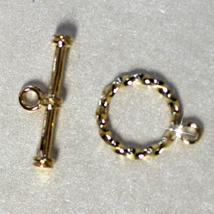 high quality jewelry components rope toggle gold easy accessories jewelry making parts