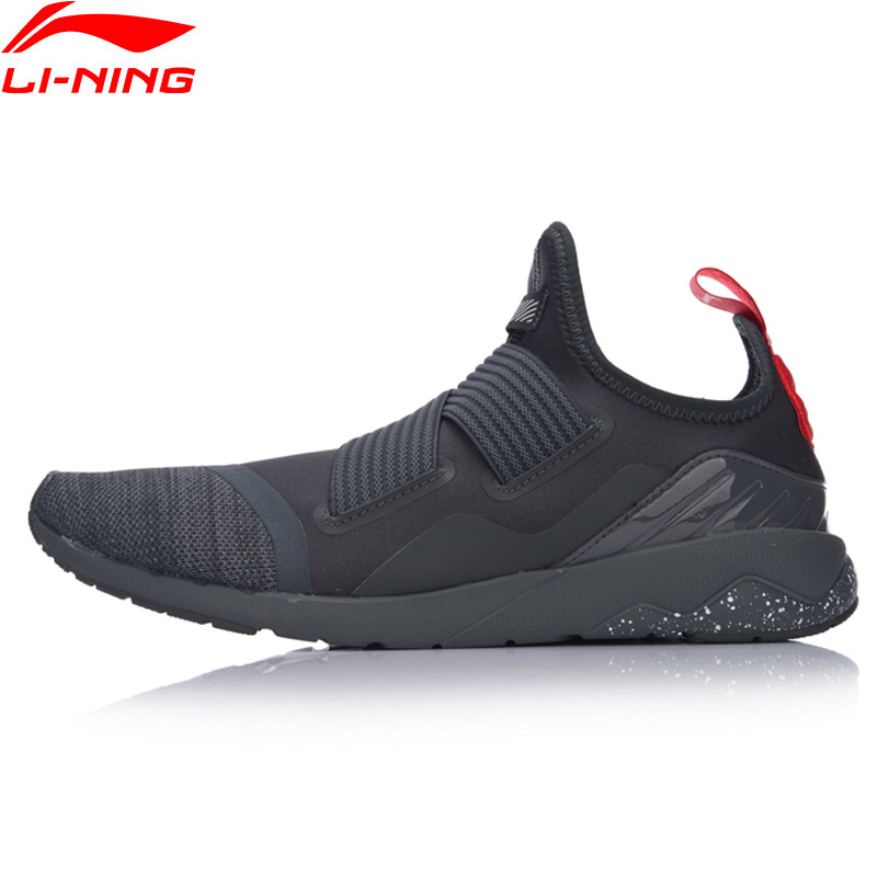 Li-Ning Men GLR190 FT Walking Shoes Textile Upper Breathable Sneakers Soft Comfort LiNing Sports Shoes GLKM083 YXB087 li ning women walking shoes light weight textile