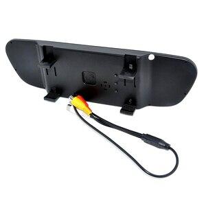 Image 3 - 車ccdビデオオートパーキングモニター、ledナイト逆転ccd車のリアビューカメラと 4.3 インチ車のバックミラーモニター