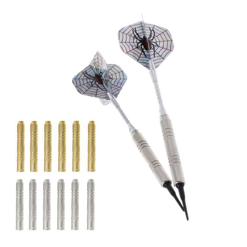 6pcs Dart Barrel For Nylon/Steel Darts Tip Dart Accessories 47mm 12g 2BA Thread