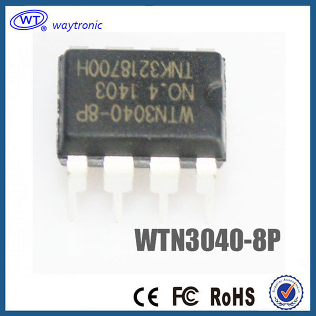 US $17 69 |Free Shipping for toys WTN3040 8P OTP Voice Chip-in Integrated  Circuits from Electronic Components & Supplies on Aliexpress com | Alibaba