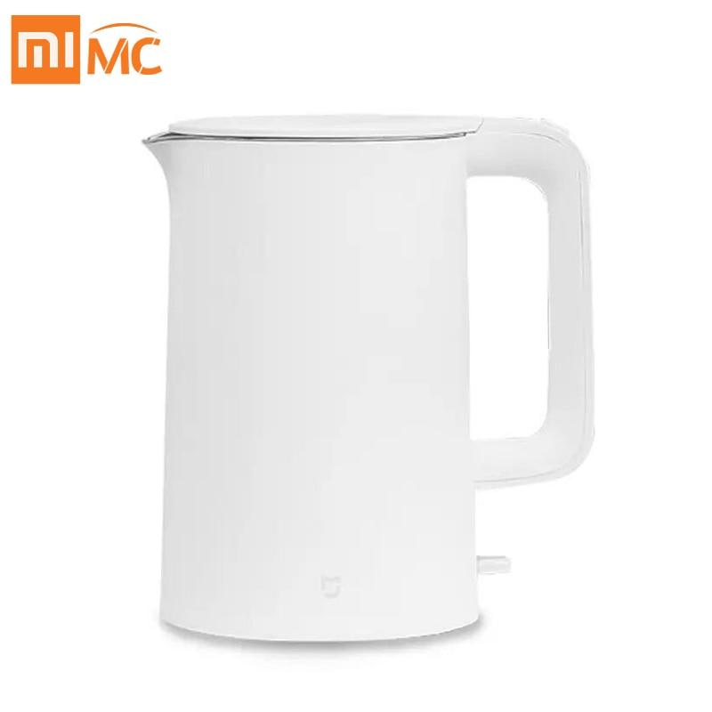 Оригинальный электрический чайник Xiaomi Mijia 1,5 л с защитой от автоматического отключения, умный водонагреватель, чайник из нержавеющей стали