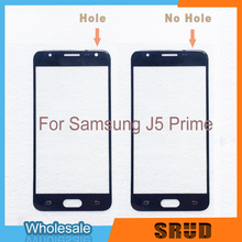 10Pcs/Lot LCD Screen Front Outer Glass For Samsung Galaxy J5 Prime ON5 G570 G570F With Laminated OCA Service lcd display for samsung galaxy j5 prime g570 g570f g570m on5 2016 touch screen digitizer assembly replacement parts 5 0