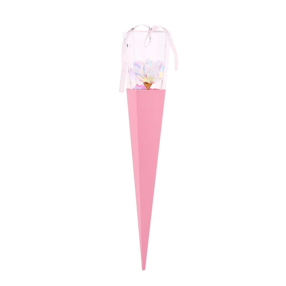 24K Цвет Золото Имитация Розы День Святого Валентина Свадьба для вашего любимого красивый юбилей украшения дома праздник