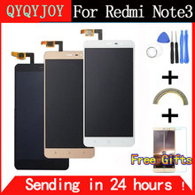 Qyqyjoy ЖК-дисплей Экран для Xiaomi Redmi Note 3 Pro клавиша Подсветка ЖК-дисплей Дисплей + Сенсорный экран для Xiaomi Redmi Примечание 3/5. 5 дюймов