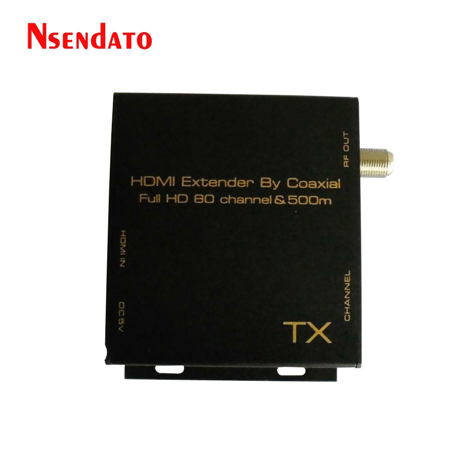HDMI DVB-T Modulator Convert HDMI Extender signal to digital DVB-T HDMI TO DVB-T Modulator TV Receiver Support RF Output 80 channels hdmi to dvb t modulator hdmi extender over coaxial