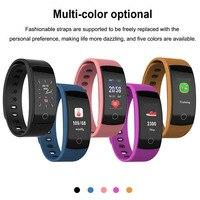 Timethinker QS80 Plus Smart Band Bluetooth Fitness Bracelet PK Honor Band 4 Blood Pressure Heart Rate Monitor Waterproof IP67