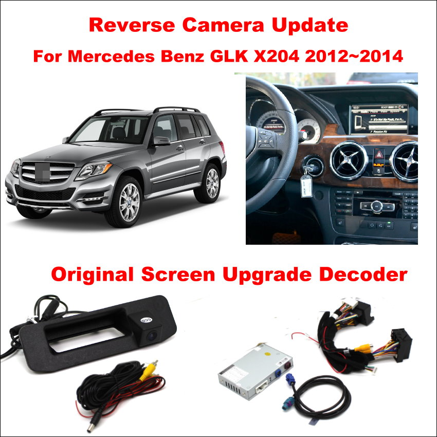For Mercedes Benz GLK X204 2012~2014 Original Screen Update / Reversing Track Image + Reverse Camera / Digital Decoder