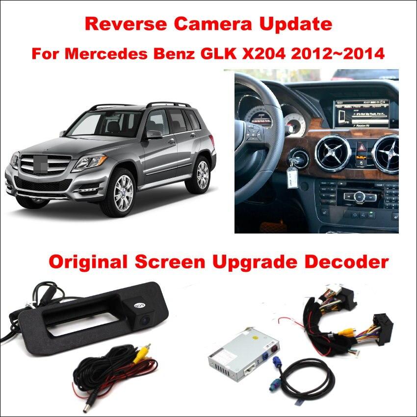 Liislee для Mercedes Benz GLK X204 2012 ~ 2014 Оригинал Экран Обновление/обращая отслеживать изображения + обратный Камера/цифровой декодер