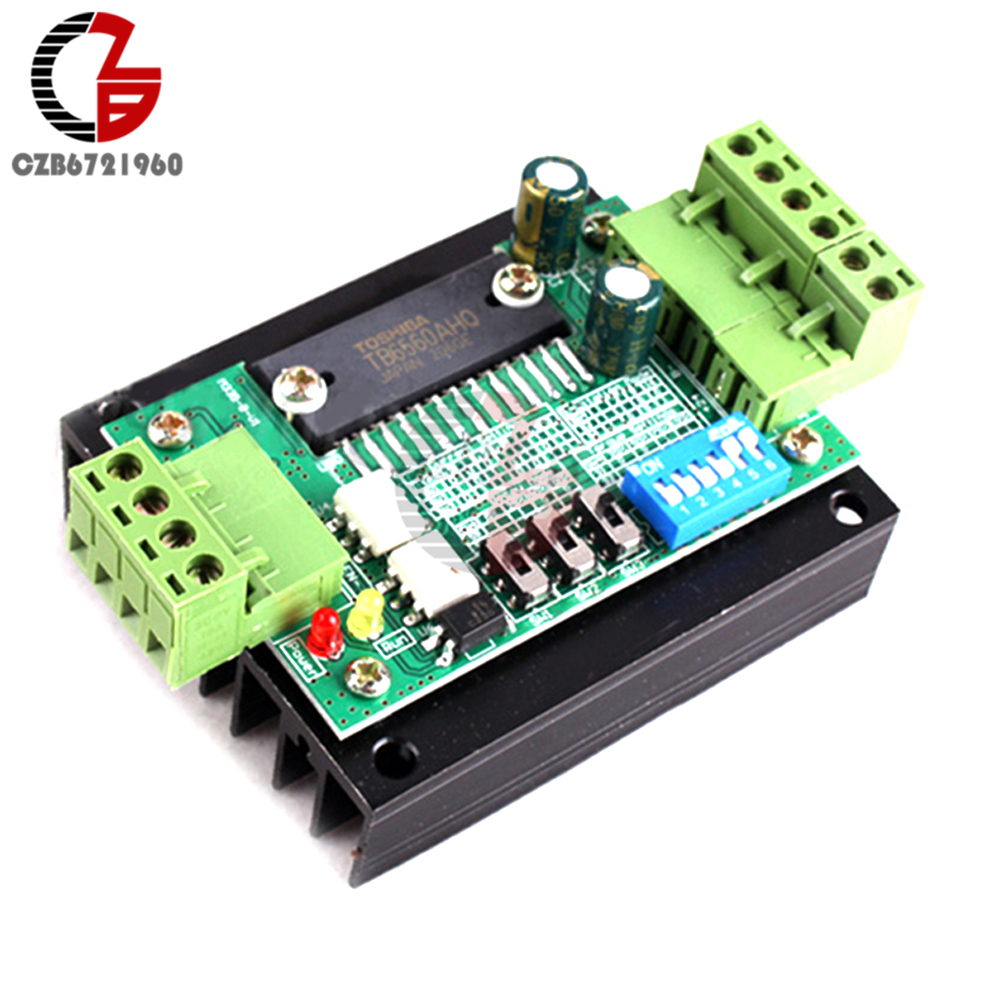 3A CNC Router Single Axis TB6560 Stepper Stepping Motor Driver Controller Board 4a integrated stepper motor controller pc control single axis 42 57 stepping motor driver cnc